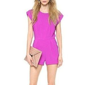 Blaque Label Pink Shorts Romper